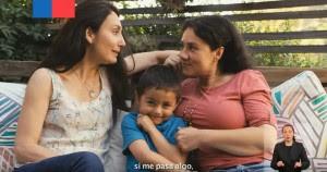 Kadr ze spotu pochodzącego z kampanii #EstamosDeAcuerdo