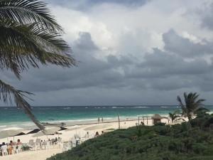 Plaża w Tulum (stan Quintana Roo). Foto: A. Komosa