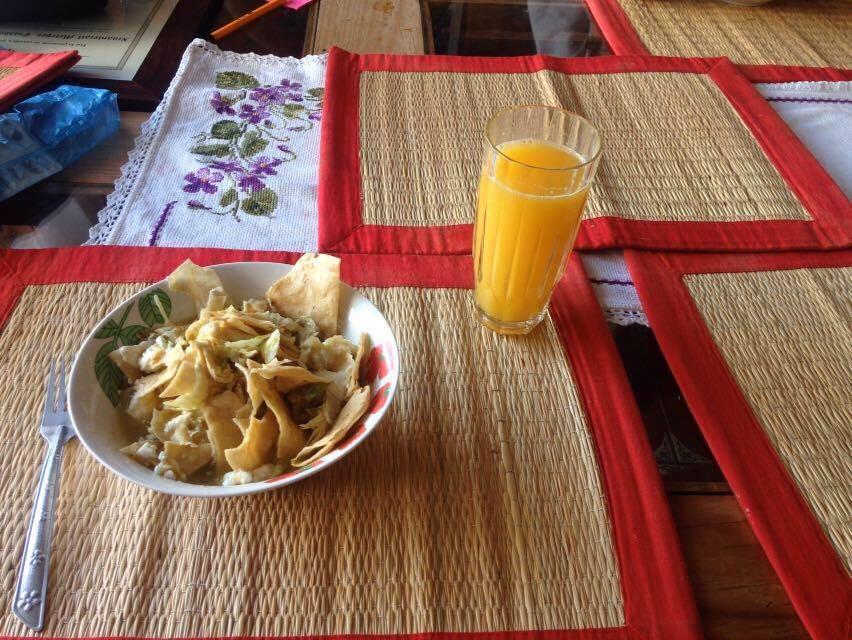 Chilaquiles, foto: znajomy A. Komosy