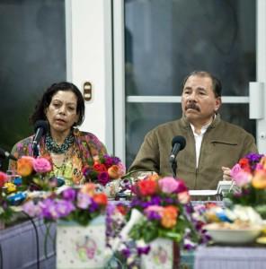 Daniel Ortega i Rosario Murillo
