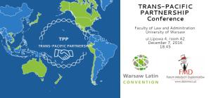 Konferencja TPPA na UW