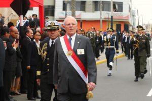 PPK durante la procesión de la Bandera (2017)